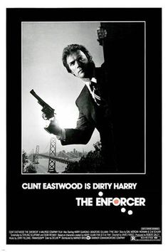 Clint Eastwood as Dirty Harry in THE ENFORCER movie poster TERRORISM 24X36 Brand New. 24x36 inches. Will ship in a tube. - Multiple item purchases are combined the next day and get a discount for dome