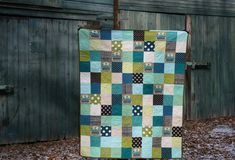 Like the quilting-clever!