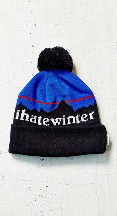 I Hate Winter Beanie