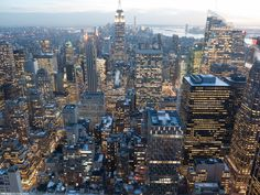 Manhattan at sunset (LUMIX)