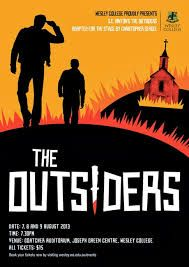 the outsiders book cover - Google Search Wesley College, Book Cover Design, Great Movies, The Outsiders, Novels, Typography, Books, Movie Posters, Google Search