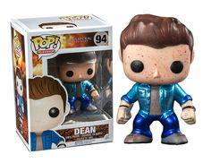 Supernatural POP! Vinyl Figur Metallic Blood Spattered Dean 10 cm  Supernatural - Hadesflamme - Merchandise - Onlineshop für alles was das (Fan) Herz begehrt!