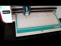 ▶ Playing with the Brother's Scan n' Cut - YouTube