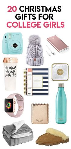 The best Christmas gifts for college students! These Christmas gifts for college girls are perfect for college daughters or granddaughters who are home for the holidays! ideas for college students Top 20 Christmas Gifts for College Girls Christmas Gifts For Teenagers, Student Christmas Gifts, Birthday Gifts For Kids, Christmas Fun, Gifts For College Girls, Best Womens Christmas Gifts, Diy Birthday, Tween Gifts, Birthday List