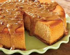 Maple Pumpkin Cheesecake from Eagle Brand