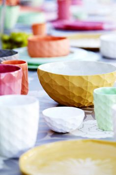 brides of adelaide magazine - bright wedding - serving bowls