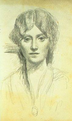 Pablo Picasso. Portrait d`Olga. 1919
