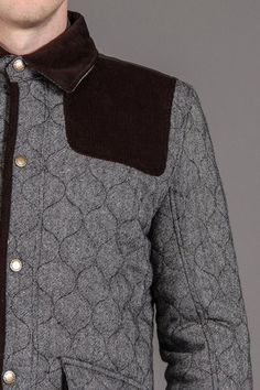 BellField Quilted Dogwalker With Cord Front Yoke