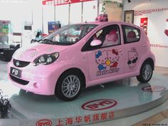 Hello Kitty BYD F0: Pink Car Hell from China - autoevolution