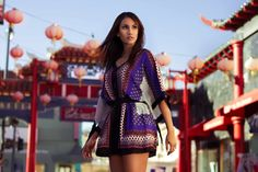 Portfolio - Mathilde Bresson - Photographer Model tara moore style by Anama . Downtown los angeles china town Fashion photoshoot Asiat Asiatique Light #chinatown #photoshoot