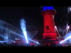 Warnemünder Turmleuchten 2016 in HD - (C) COPTERMY - Ton beschnitten - YouTube