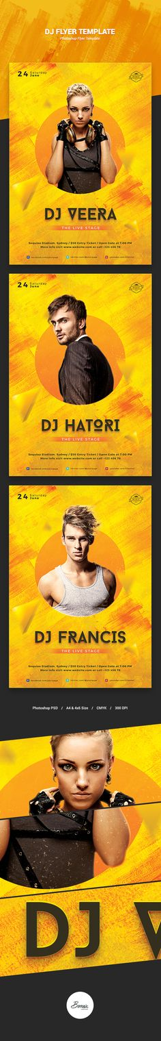 This is one of your items. DJ Flyer Template - Concerts Events Screenshots…