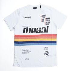 BRANDディーゼル/DIESEL  ITEMクルーネックTシャツ/T-JOE-OB  Item No.t-joe-ob-00sxnx-0eadq-100, t-joe-ob-00sxnx-0eadq-900  Colorホワイト系 (COL:WHT), ブラック系 (COL:BLK)