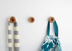 Three Doughnut coathooks by All Lovely Stuff - http://www.thecollection.fr/en/hooks/120-three-doughnut-coathooks-by-all-lovely-stuff.html #theCollection #AllLovelyStuff