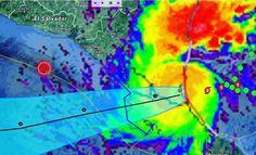 Dia triste para #centroamerica  Otto entra en #Nicaragua con Categoria 2 y un fuerte terremoto sacude el Pacífico en el Golfo de Fonseca. Esperemos que salgamos bien librados de todo esto.