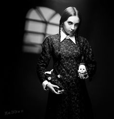 deviantART: More Like Wednesday Addams Cosplay by ~FredFredBurger009