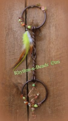 Rhythm Beads Hoofprints On Your Heart Horseshoe Art Wired Whinnies Feathers n Flair Stirrup Steeds Horseshoe Crafts, Horseshoe Art, Gallon Glass Jars, Horse Crafts, Horse Bits, Vintage Horse, Country Farmhouse Decor, Horse Hair, Wire Art