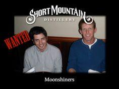 Benjamin Kaufman with Moonshiner Blake Hunter.