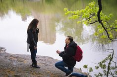 Such a sweet proposal in Central Park! You have to read their love story and see the video. <3