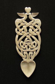 lovespoon 417 [spoon417] - £65.00 : Welsh love spoons The Lovespoon Gallery