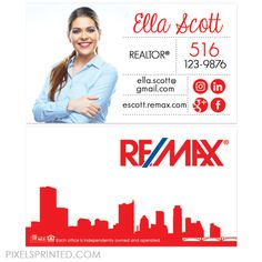 remax business cards, real estate business, cards realtor business cards