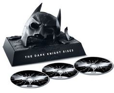 Batman The Dark Knight Rises blu-ray masque collector