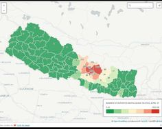 """Ravi Nepal on Twitter: """"Interactive map to help #NepalRelief deliver aid in all affected areas: http://t.co/QtfSL52mT8 #NepalQuake #dataviz http://t.co/vNCGJXuDQM"""""""