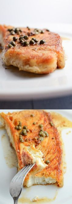 Easy halibut recipe, takes only a few minutes,and will be sure to put a smile on any fish lovers face. Halibut in brown butter makes simple, extraordinary.