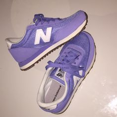 new product 88fc0 a345a Shop Women s New Balance Purple size 6 Sneakers at a discounted price at  Poshmark. Description  purple new balance women s tennis shoes, size never  worn!