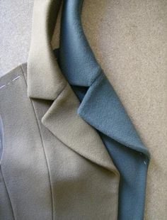 Quite some time ago, before his August holiday, PacoPeralta offered to write the directions for pad stitching and shaping the lapel and col...