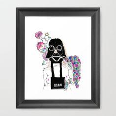Control Me Framed Art Print by bnwu - $34.00