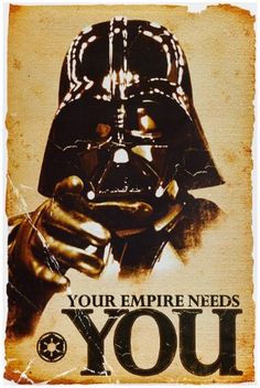 1art1 52077 Star Wars - Empire Needs You Poster 91 x 61 c... https://www.amazon.de/gp/product/B004GWGSOK/ref=as_li_tl?ie=UTF8&camp=1638&creative=6742&creativeASIN=B004GWGSOK&linkCode=as2&tag=creatingcas0f-21