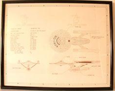 Star Trek Constitution II : 305m Space Ship Illustration by POTUKS