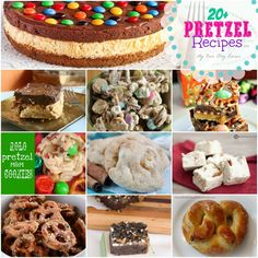20+ Pretzel Snack and Dessert Recipes on My Own Blog Review