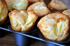 These are so light and airy. I made them yesterday. I used skim milk ...