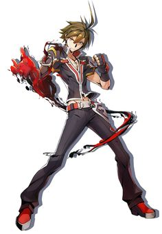 Naoto from BlazBlue: Central Fiction