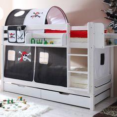 Lits superpos s de gar ons sur pinterest lits superpos s - Fabriquer des lits superposes ...