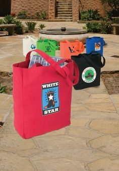 Promotional Sovrano Totes Soverna Colored Canvas Tote #totes #advertising #promoproducts   Promotional Canvas Tote Bags   Promotional Products