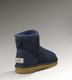 UGG Mini Classic 5854 Navy Boots | My Style | Pinterest | Jingle bells, Ugg classic and Navy