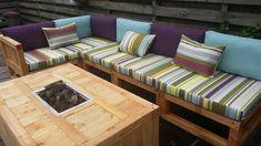 outdoor stoffen stof gestreept 175 cm kleurmeester en uni gekleurd 150 #outdoorliving #tuininspiratie #stof #acryl #doehetzelf