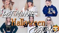 Go to http://halloweencostumestore.net/go for your Halloween costumes. EASY LAST MINUTE HALLOWEEN COSTUMES FOR TEENS | TheElizaRose