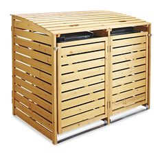 Kryt na popelnice Storage, Cover, House, Purse Storage, Home, Haus, Houses, Homes