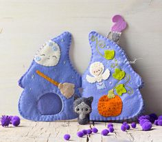 Witch cottage soft book. Soft book