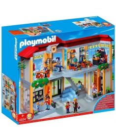 Playmobil School Gym Playset Construction Set Playmobil