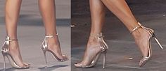 "Jennifer Lopez Is Luminously Pretty in Gianvito Rossi ""Venetia"""