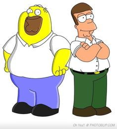 Homer Griffin and Peter Simpson