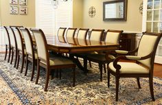 Large Dining Room Table, Dining Table Chairs, Dining Room Furniture, Dining Set, Expandable Round Dining Table, Mahogany Dining Table, Table Seating, Designer, Room Decor