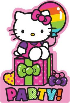 Send these Hello Kitty Rainbow Invitations to your friends and invite them to the big celebration! The package includes 8 invitations and envelopes.Includes (8) themed invitations with envelopes.