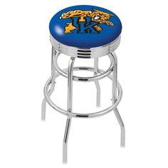 Kentucky Wildcats Blue Retro Swivel Bar Stool