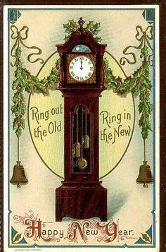 happy new year retro clip art Vintage Happy New Year, Happy New Year Cards, New Year Greeting Cards, New Year Greetings, Vintage Greeting Cards, Victorian Christmas, Vintage Christmas Cards, Vintage Holiday, Xmas Cards
